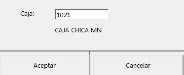 1021 caja chica